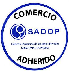 Comercios Adheridos a SADOP