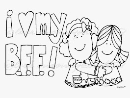 Bff Coloring Pages Printable