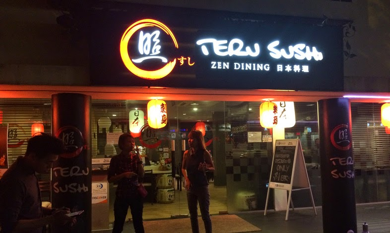 Entrance of Teru Sushi at Link Hotel.