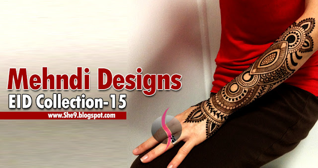 Eid Mehndi Design Collection 2015