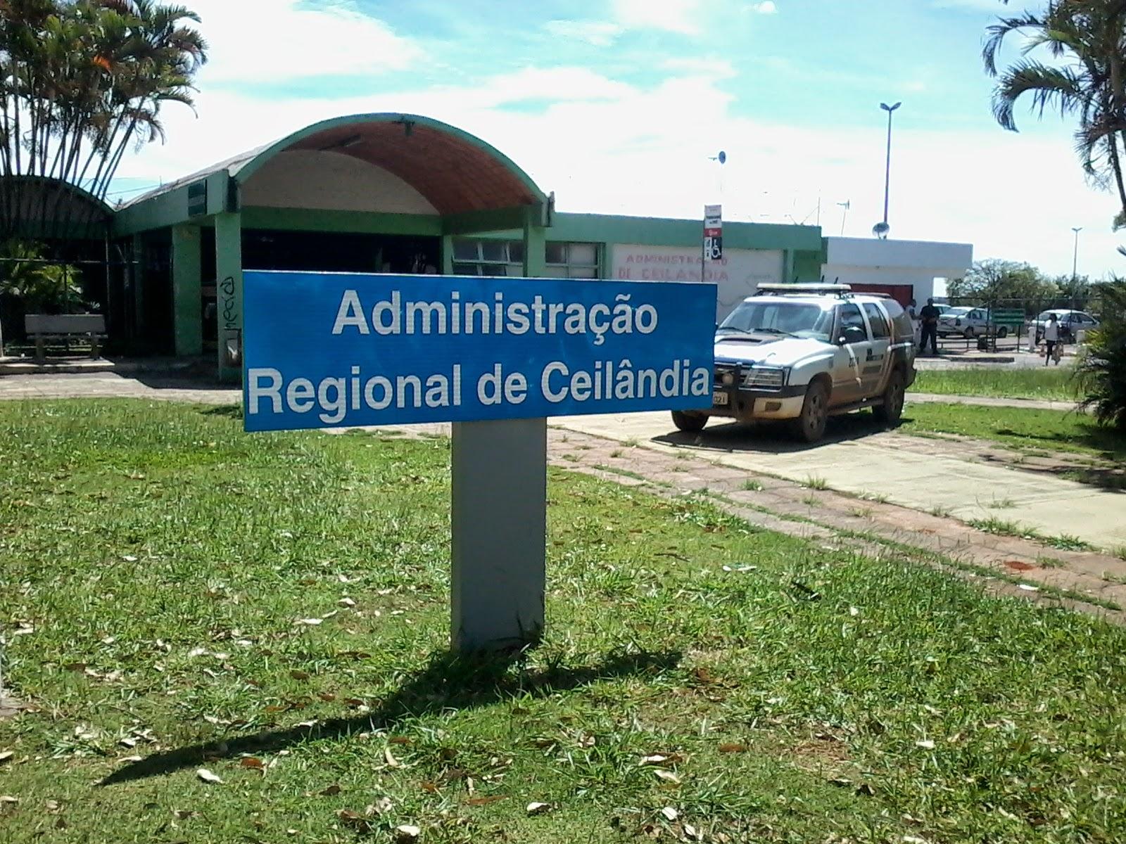 Resultado de imagem para administração regional df