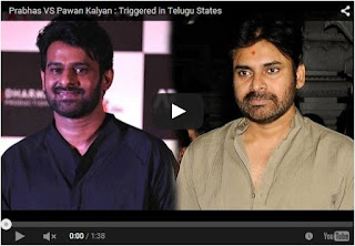 Prabhas VS Pawan Kalyan : Triggered in Telugu States | Latest Pawan Kalyan News | HD Videos