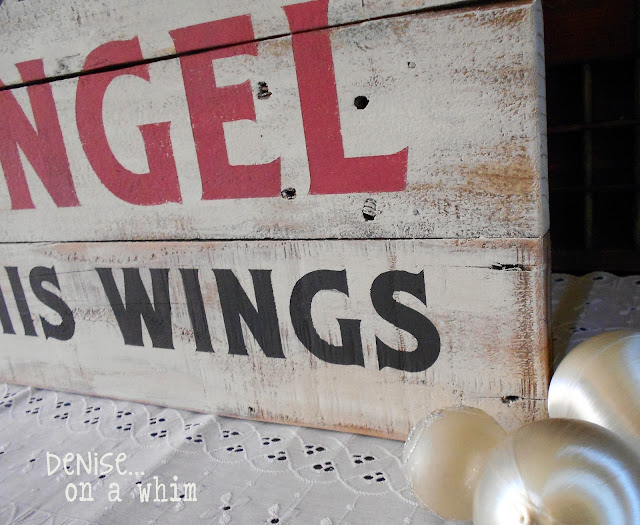 Every Time a Bell Rings, An Angel Gets His Wings Pallet Sign