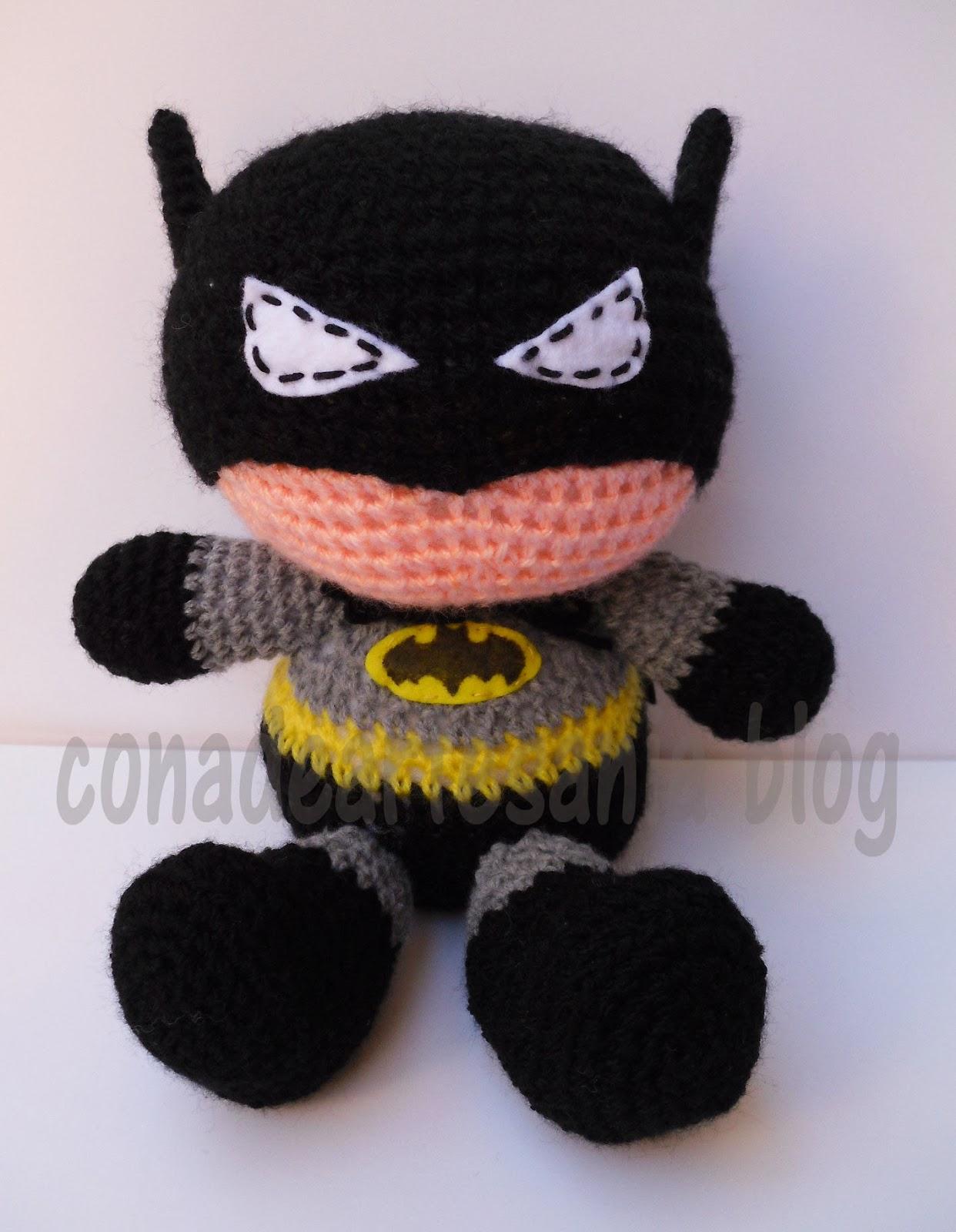 con A de artesan?a: Amigurumi Batman