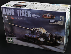 "In-Boxed: Takom's 35th scale Sd.Kfz.182 King Tiger Henschel Turret w/Zimmerit – ""Abt.505"""