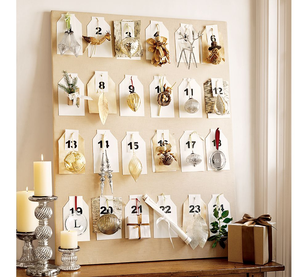 Dreams and wishes christmas countdown advent calendars for Diy christmas advent calendar ideas