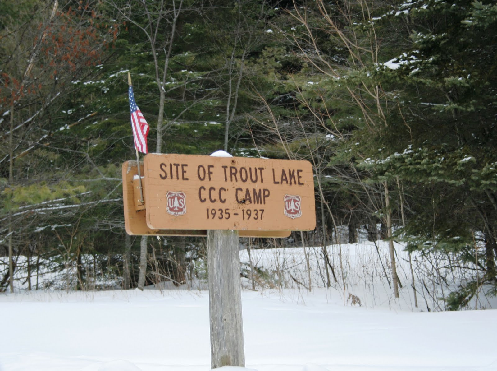 Birch Lodge Blog Trout Lake Mi Area Civilian Concervation Corps