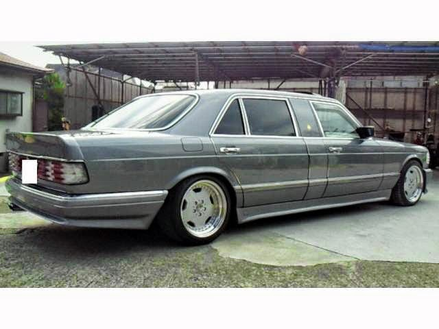 Mercedes benz w126 1000sel japan vip benztuning for Mercedes benz w126