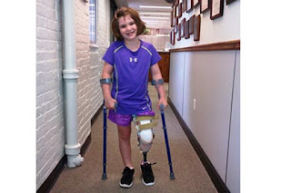 Survivor of the Boston bombing Jane Richard, 7, is back Irish dancing