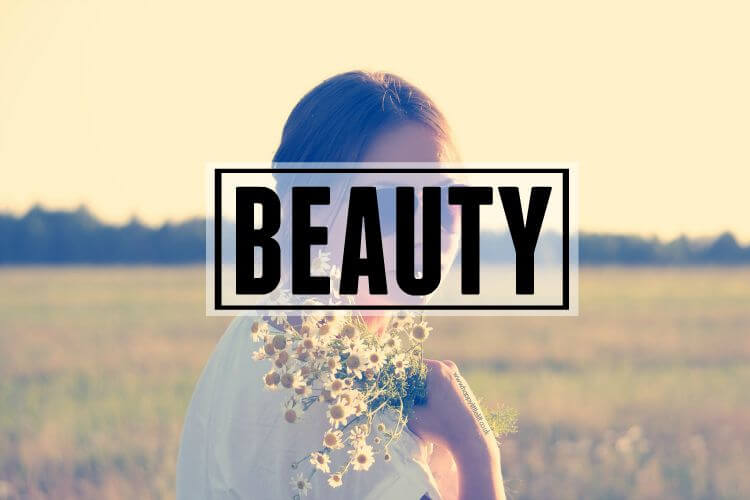 Beauty Page Header