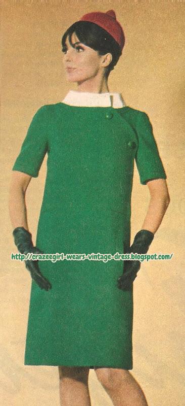 Christian Dior Dress - 1966 green