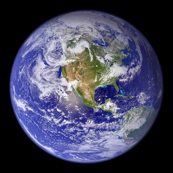 La forma achatada de la Tierra