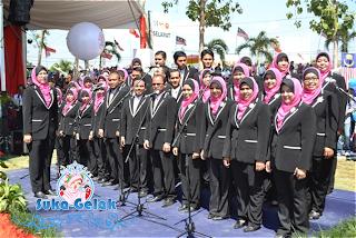 Gambar Koir Suruhanjaya Koperasi Malaysia : Hari Koperasi Negara 2013