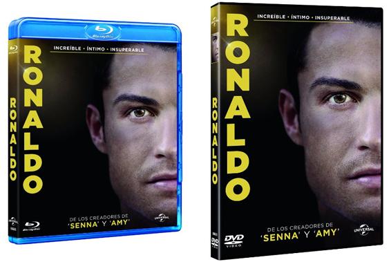 Ronaldo dvd Blu Ray film comprar