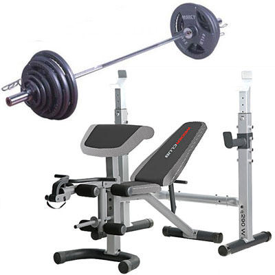 Weider Weight Bench Set Images