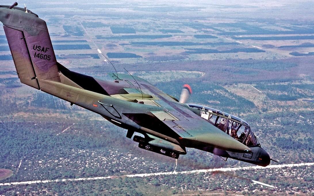 OV-10 Bronco attack aircraft wallpaper 2