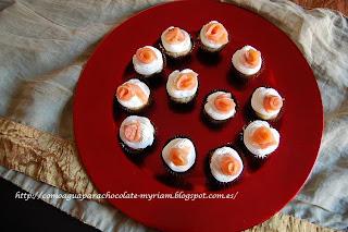 Mini Muffins De Salmón Y Eneldo.