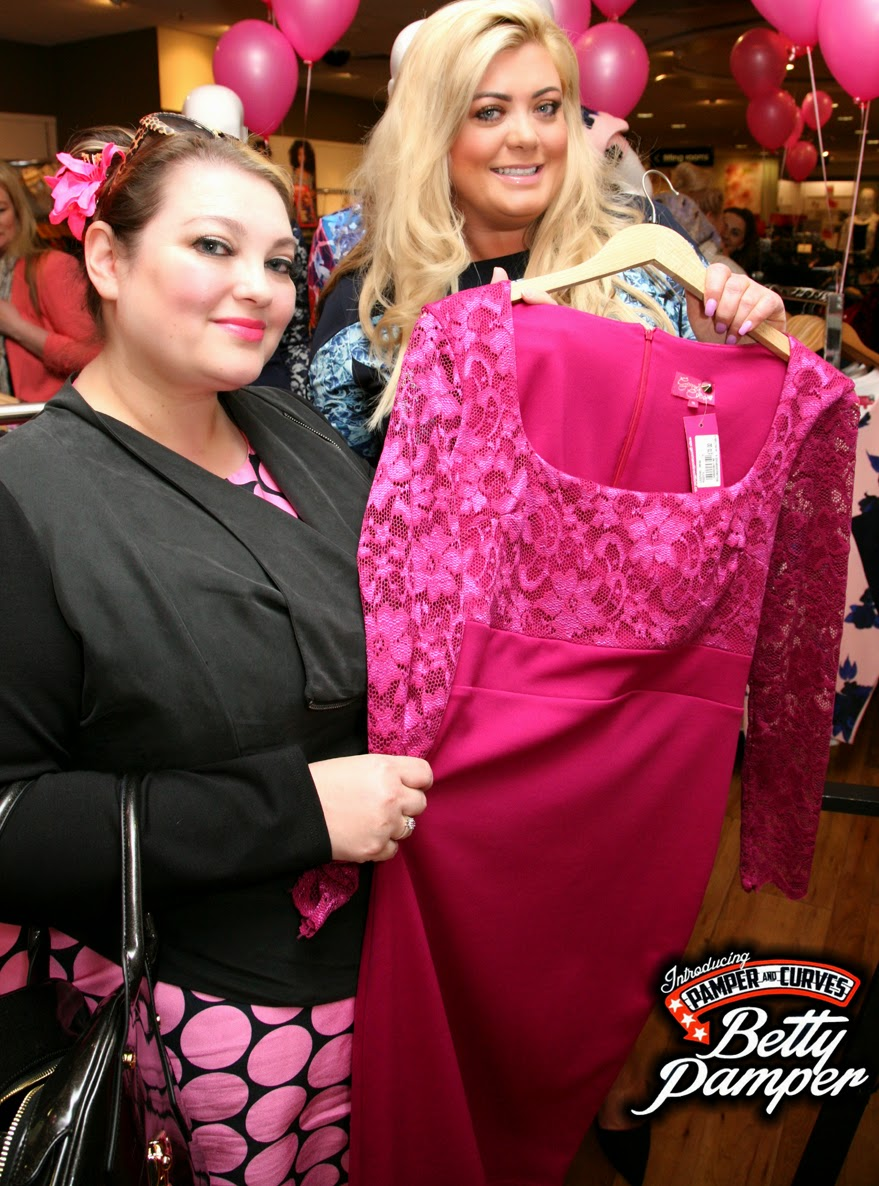 Gemma Collins for Evans clothing