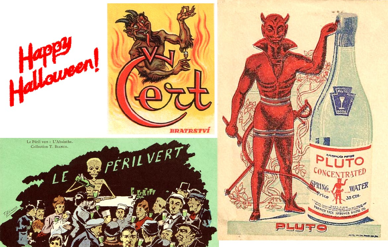 Vintage devils patronymic surname