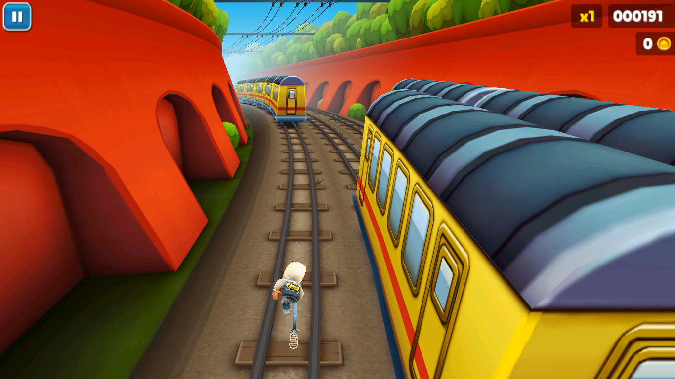 Subways Surfers For PC (With Keyboard Control)