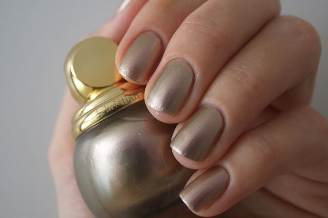 Nail polish Swatch Dior Diorific Vernis #227 Gris-Or