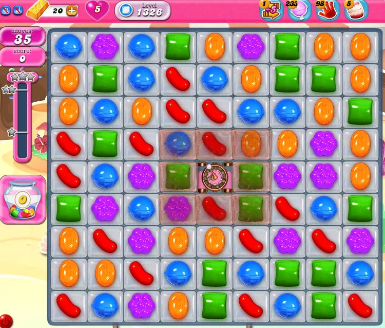 Candy Crush Saga 1326