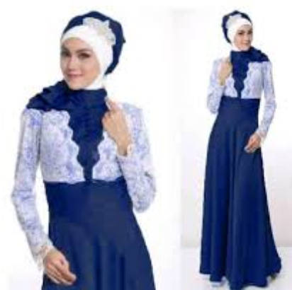 Contoh 15 Trend Busana Muslim Gamis Modern Terbaru