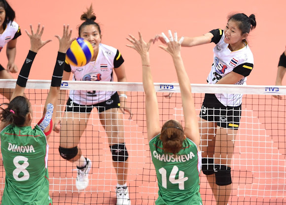 Thailand 3 ปู๊น! ปู๊น!_FIVB Volleyball Women's U23 World Championship 2015