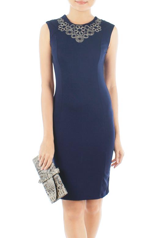 Midnight French Rosa Dress