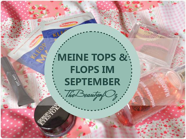 Meine Tops und Flops im September 2013