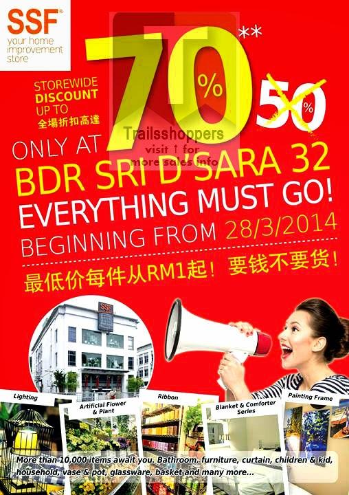 SSF Bandar Sri Damansar Clearance Sale