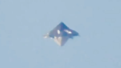 Giant Pyramid Shaped UFO Over Brazil 2015, UFO Sightings