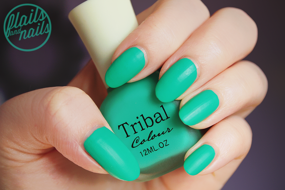 Tribal Candy Color Frosted Matte Glossy Nail Polish #9 | Flails and ...