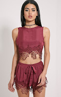 https://www.prettylittlething.com/rashida-burgundy-crochet-trim-crop-top.html