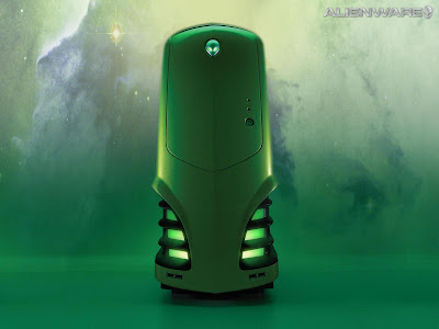 Alienware Green PC Wallpapers