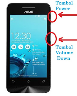 Cara Screenshot Di HP Asus Zenfone