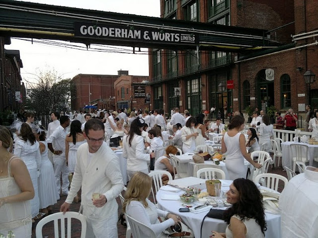 white party in September at The Distillery