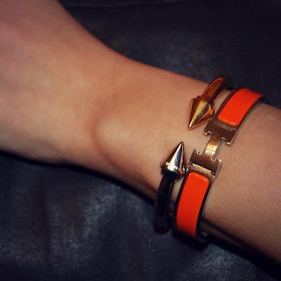Hermes bangle, Vita Fede Titan,