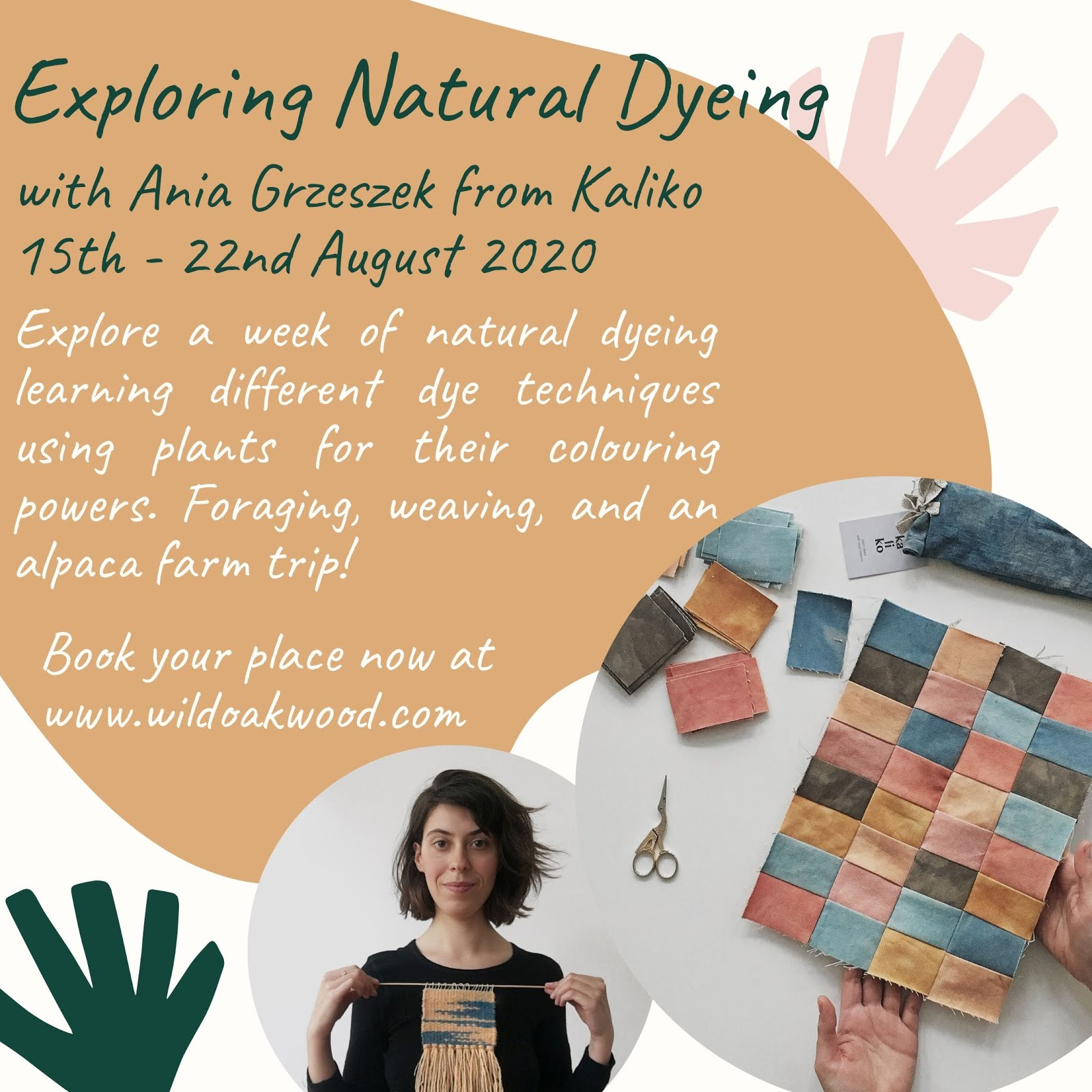 Natural Dyeing with Ania Grzeszek