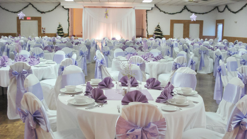 Wedding decorations wonderful wedding venue decoration for Pictures of wedding venues decorated