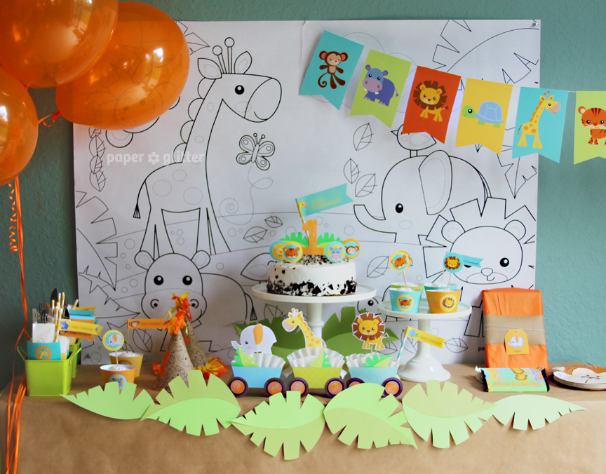 My son s 1st birthday celebration for 1st birthday party decoration ideas boys