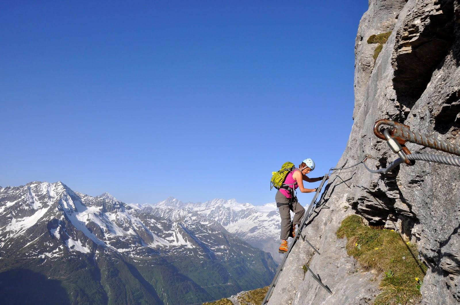 Klettersteig Basel : Von bergen und : klettersteige