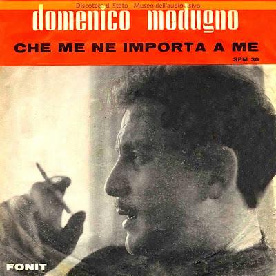 Sanremo 1964 Domenico Modugno - Che me ne importa a me