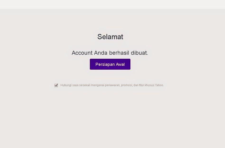 Cara Mendaftar Yahoo Tanpa Verifikasi