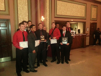 All 2012 First & Second Team All-GCL and Academic All Star  players from La Salle High School
