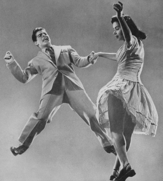 Vintage Dancing #lindy #hop #1940s #1950s #dancing #swing