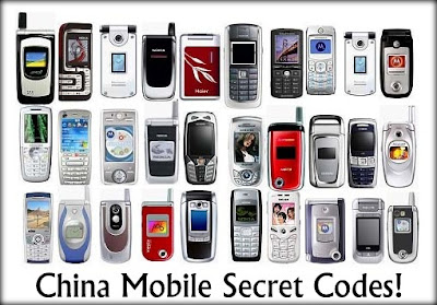 Hidden China Mobile Phone Codes