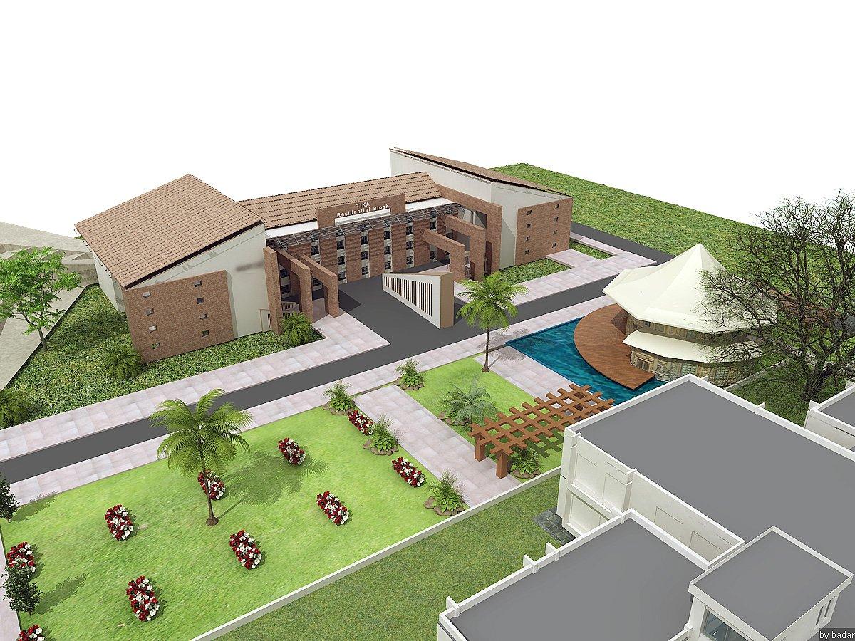 3D Front Elevation.com House Plan Design, Creative Design Contemporary ...