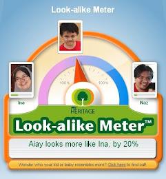 Look-alike-meter