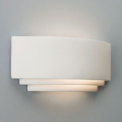 The stylish AX0577 Amalfi Plus Wall Light, wall uplighter for indoor use